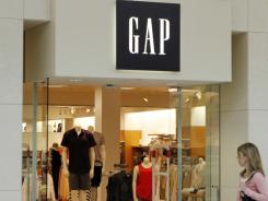 A customer enters a Gap store in Bethel Park, Pa., on May 18, 2011.
