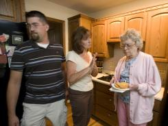 Multi-generational households are on the rise, according to a Pew Reseach Center study.