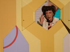 "Lily Tomlin reprises her old ""Laugh-In"" role as a phone operator at the Emmy Awards in 2008."