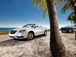 The Chrysler 200 convertible.