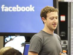Facebook CEO Mark Zuckerberg. Investors are eagerly anticipating a Facebook IPO.
