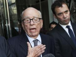 CEO Rupert Murdoch, who became a U.S. citizen in 1985, may be tough to oust. He controls 40% of News Corp.'s voting shares.