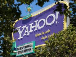 A  Yahoo billboard in San Francisco.