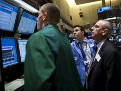 Traders at the New York Stock Exchange last week.