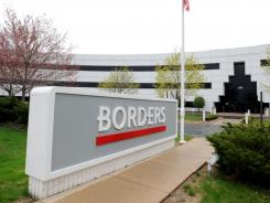 Borders headquarters is shown in Ann Arbor, Michigan, May 1, 2011.