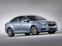The 2011 Chevrolet Cruze ECO.