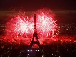 Paris can wait? The City of Lights during July 14 Bastille Day celebrations.