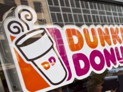 A Dunkin' Donuts store in midtown Manhattan.