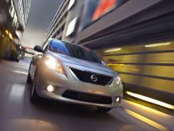 The 2012 Nissan Versa.