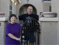 Paul Trigili, 65, and his wife Terri, 60,  are postponing retirement partly because of the steep drop in the value of their home in North Las Vegas,