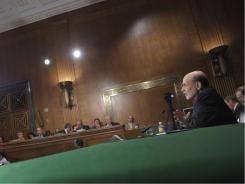 Federal Reserve Chairman Ben Bernanke testifies July 14 before the Senate Banking Committee.
