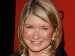 Martha Stewart attends the Time 100 Gala, celebrating the 100 most influential people in the world, in New York on April 26, 2011.