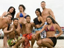 """MTV's  """"Jersey Shore"""" is getting more social media buzz than the possibility of a double-dip recession."""
