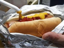 A judge may decide what two giant hot dog makers can say about each other's products.