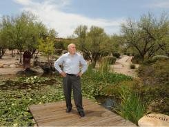 Mel Zuckerman, founder of Canyon Ranch.