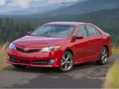 The 2012 Toyota Camry SE.
