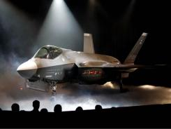 The Lockheed Martin F-35 Joint Strike Fighter was  unveiled in 2006 . Its future is now cloudy.