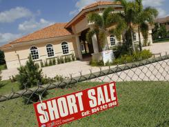 A home in Davie, Fla., is offered for short sale.