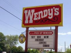 Wendy's CEO steps down.
