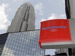 Bank of America's headquarters in Charlotte.