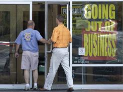 Consumers continue to search for bargains as the economy remains weak and businesses struggle. 