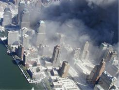 New York City Police footage after the collapse Sept. 11, 2001, of both main towers of the World Trade Center.