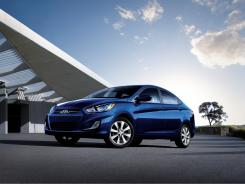 The 2012 Hyundai Accent.