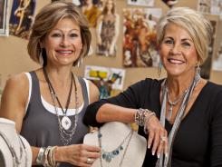 Silpada co-founders Bonnie Kelly, left, and Teresa Walsh wanted to stay on and continue to be active in the company after selling.