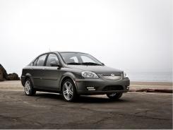 The 2012 CODA sedan.