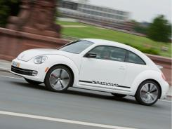 The 2012 Volkswagen Beetle.
