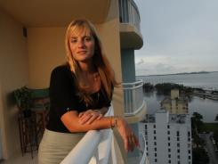 Roberta Fernandes had to put almost 50% down to get a loan for her first home, a Miami condo.