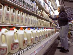 Milk prices have risen almost 20% over the past six months, according to the Labor Department's consumer price index report.