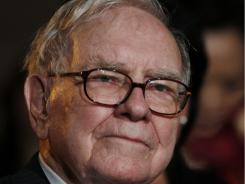 Billionaire businessman and investor Warren Buffett, chairman and chief executive officer of Berkshire Hathaway.
