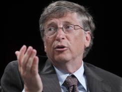 Microsoft founder Bill Gates at a July 28 National Urban League conference in Boston.