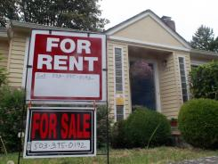 A house for rent and for sale in Portland, Ore.