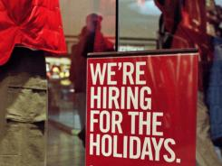 A quarter of retailers plan to hire fewer seasonal workers this year than last, according to a survey.