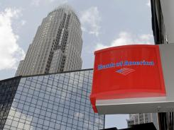Bank of America's Charlotte headquarters.