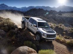 Ford F-150 SVT Raptor:  It will get a front-view camera to help drivers as they crawl over rocks and other obstacles in rugged terrain.