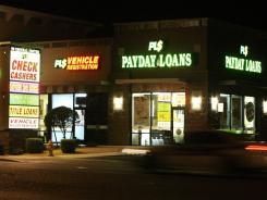 Payday loans oftentimes carry high interest rates.
