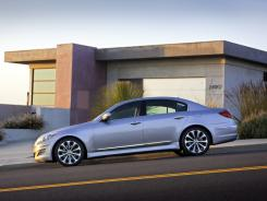 The 2012 Hyundai Genesis.