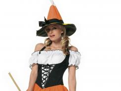 Witches are once again popular costumes for Halloween this year.