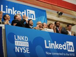 LinkedIn jumped 109% on its first day of trading on the New York Stock Exchange on May 19, 2011.