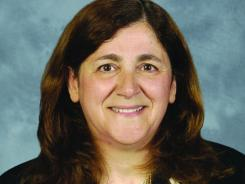 Gracia Martore, Gannett's new chief executive officer.