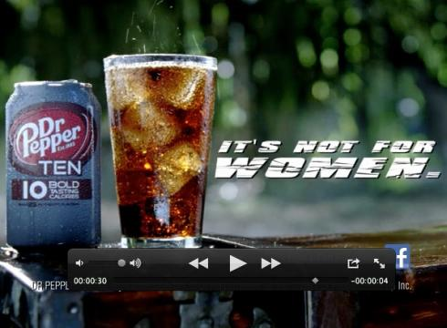 Dr. Pepper Ten Not For Women 