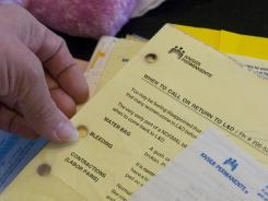 Paperwork from Kaiser Permanente, which operates four of the nine five-star Medicare Advantage plans.