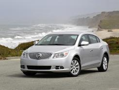 The 2012 Buick LaCrosse with eAssist technology.