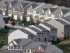A new home development  in Canonsburg, Pa.,
