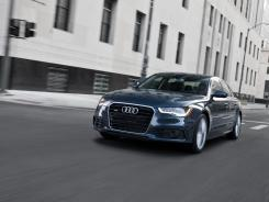 The 2012 Audi A6.