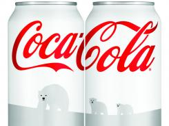 Coca-Cola is turning its traditional red Coke cans into its first-ever white cans for the holiday season.