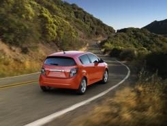 The Chevrolet Sonic hatchback.